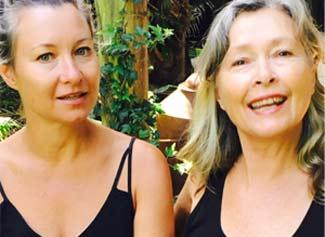 Suzanne Fraser & Gretchen Highfield (East Coast Iyengar)